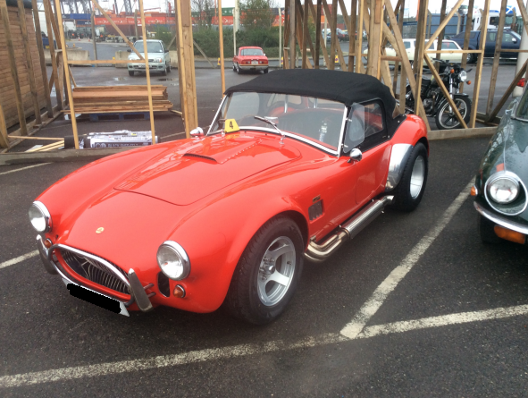 AC Cobra Shipped to Dubai by Autoshippers