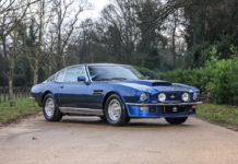 Aston Martin V8 (1974) - Autoshippers Car Shipping