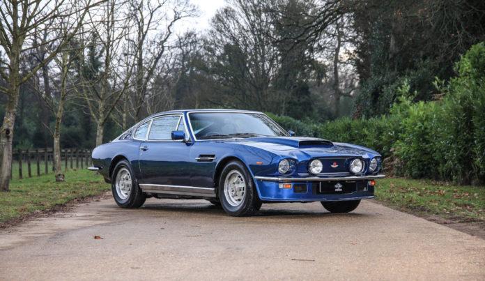 Aston Martin V8 (1974) - Autoshippers Car Shipping