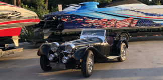 Jaguar SS Reproduction - Car Shipping - Autoshippers