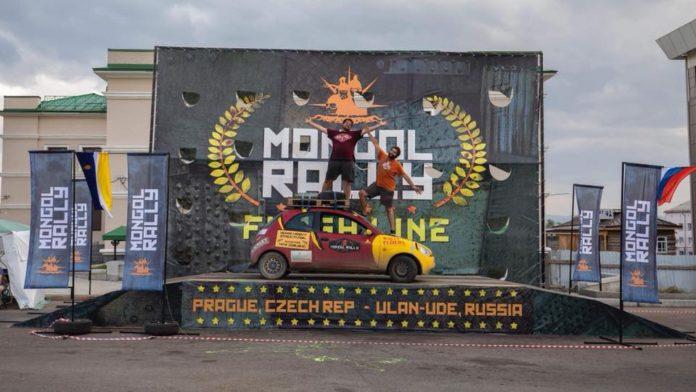 Buzzy KA - Mogol Ralley - Car shipping