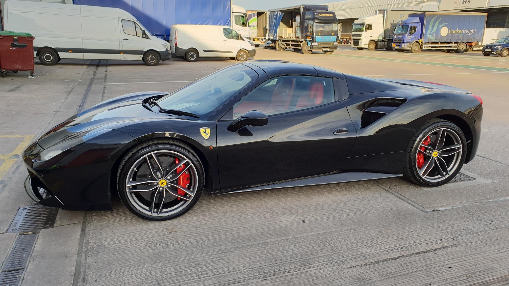 Ferrari 488 Spider Autoshippers Blog