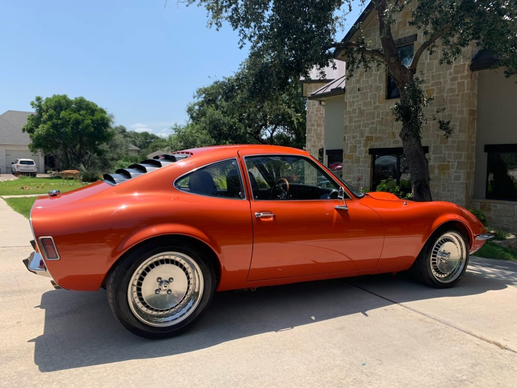 Opel GT shipped to the USA - Classic car shipping