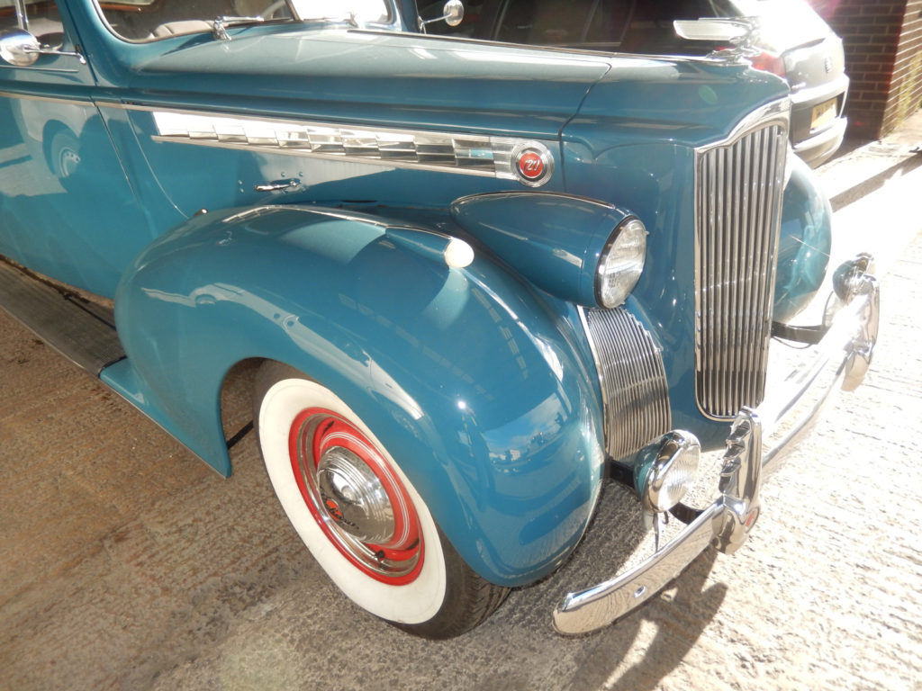Packard One-Twenty shipped by Autoshippers