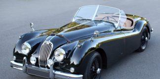 Jaguar XK140 - Classic Car Shipping