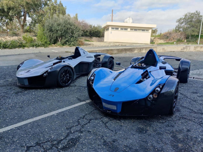 2 BAC Mono's on arrival in Cyprus, shipped from the UK by Autoshippers