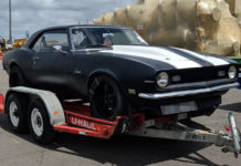 Chevrolet Camaro on Arrival in Jacksonville, USA - Car shipping UK to USA - Autoshippers