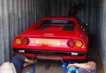 Ferrari - Container Car shipping