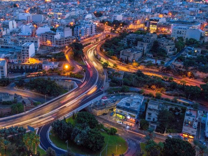 Driving in Malta