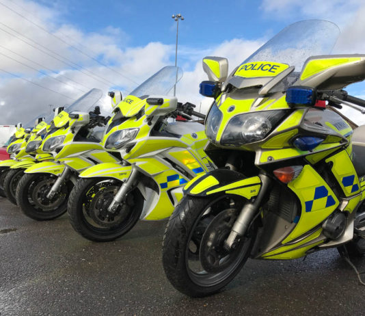 Police bikes shipped from the UK to Malta