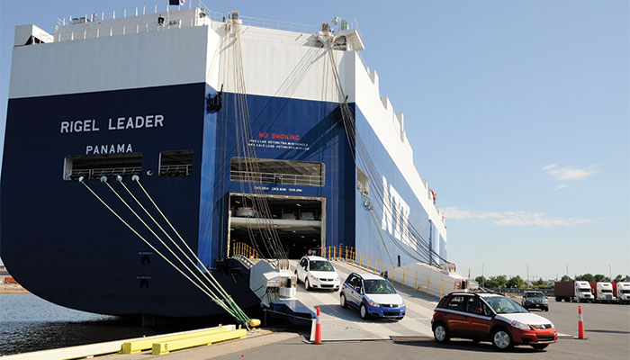 RoRo Ship - Roll on Roll off Car Shipping