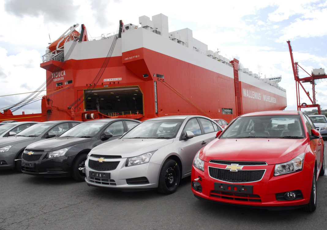 Roll on Roll off Car Shipping