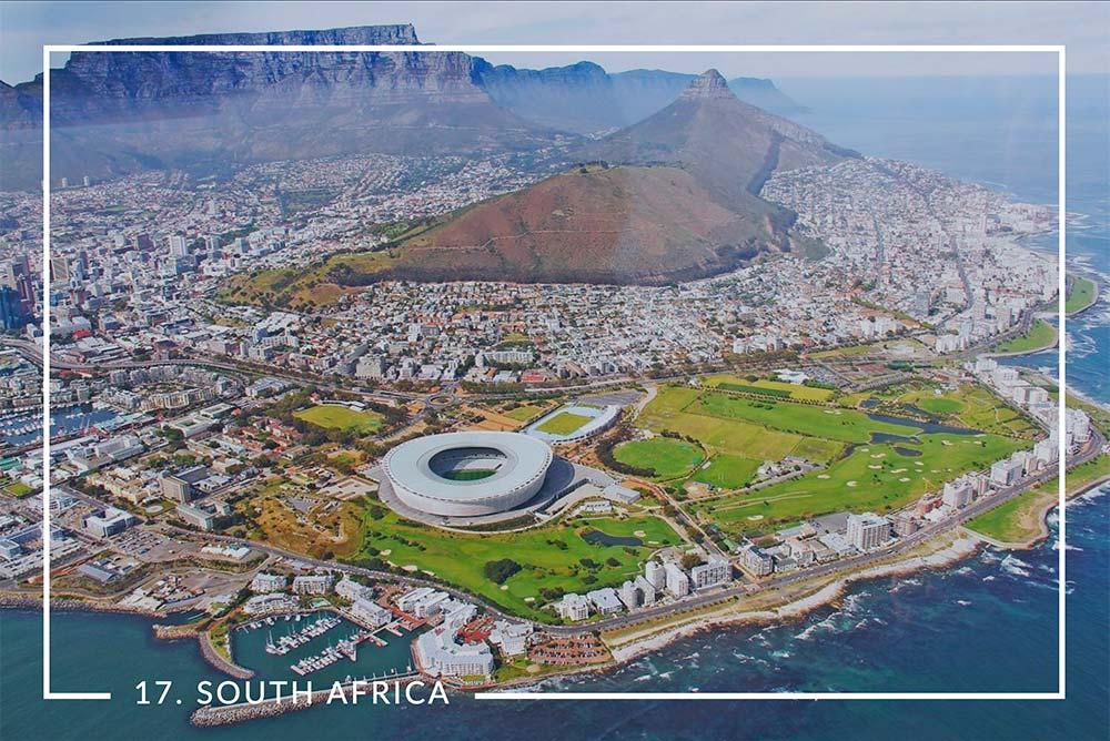 South Africa No. 17