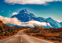 The best new zealand road trips - new zealand mountainscape - car shipping to new zealand