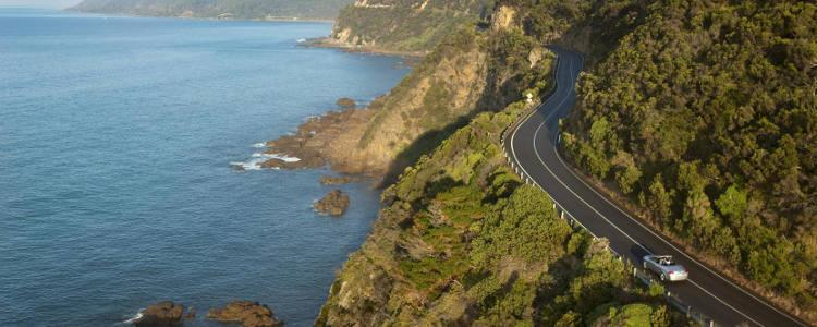 Scenic Ocean Road Australia