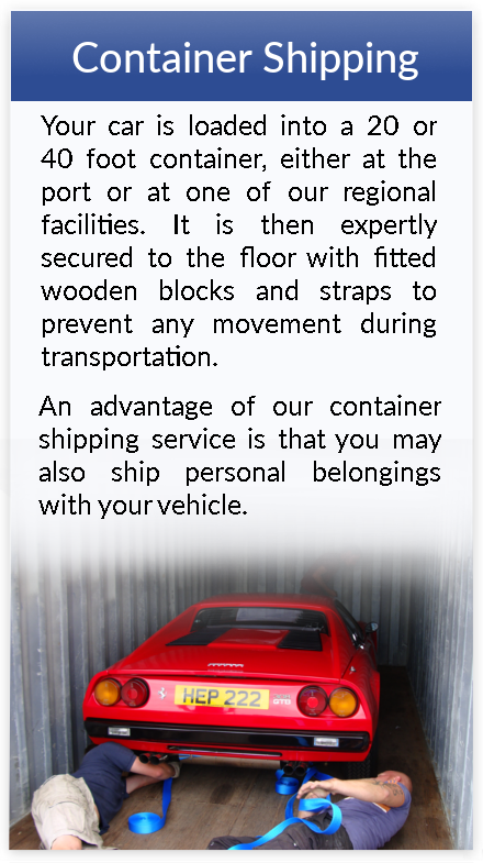 Container Car Shipping to Canada