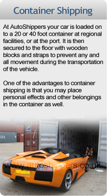 Container Car Shipping Advice