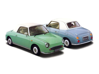 Car shipping Nissan Figaro