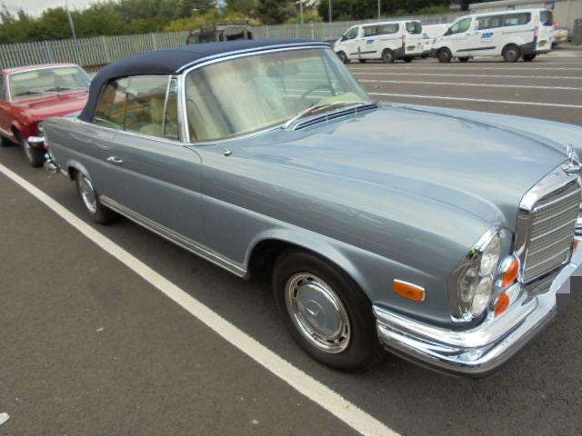 Car Shipping Mercedes 280SE
