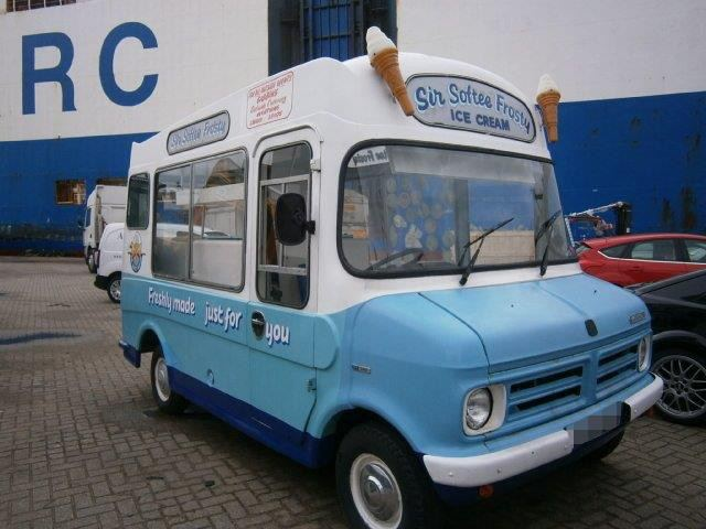 Car Shipping Bedford Ice Cream Van