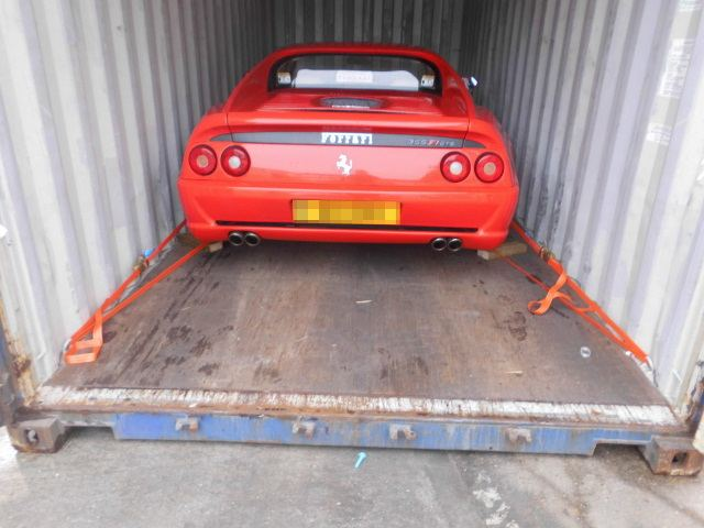 Car Shipping Ferrari F355 Kit Car