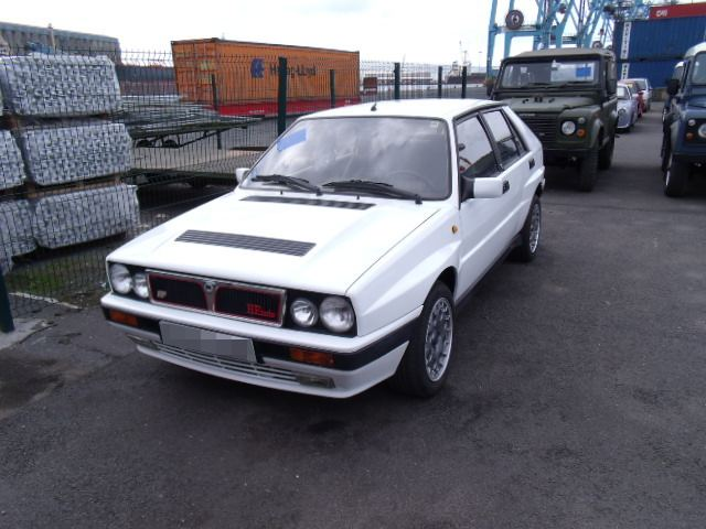 Shipping a Lancia Delta Integrale to New York, USA