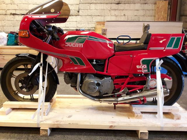 Car Shipping Ducati 600SL