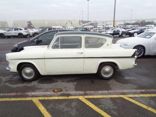 Car Shipping Ford Anglia