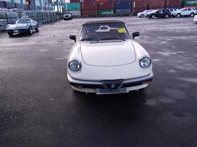 Car Shipping Alfa Romeo Spider