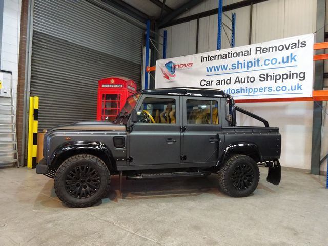 Car Shipping - Land Rover Defender 110