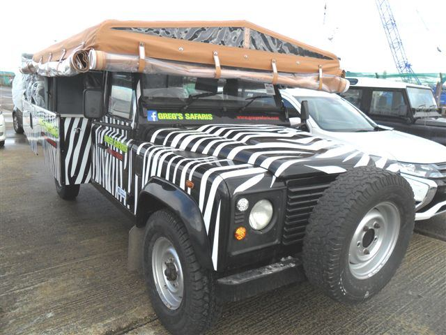 Car Shipping Land Rover Safari