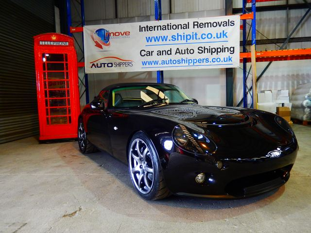 Car Shipping TVR Tamora