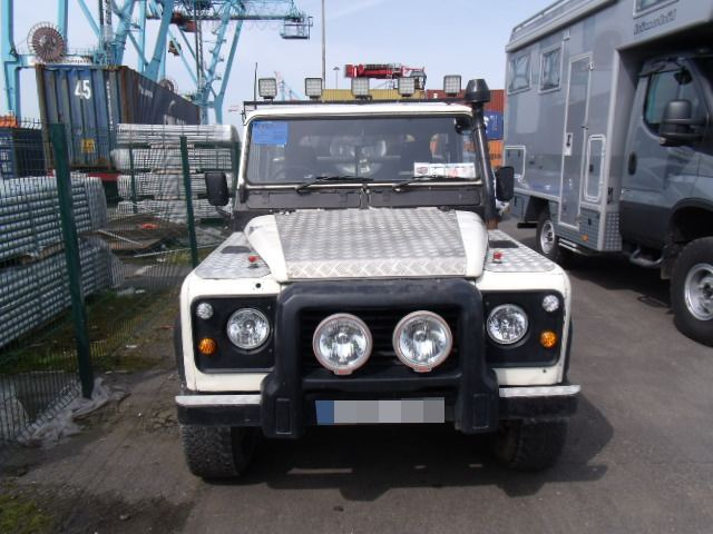 Car Shipping - Land Rover Defender