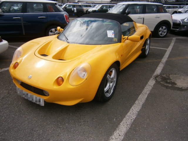Car Shipping Lotus Elise