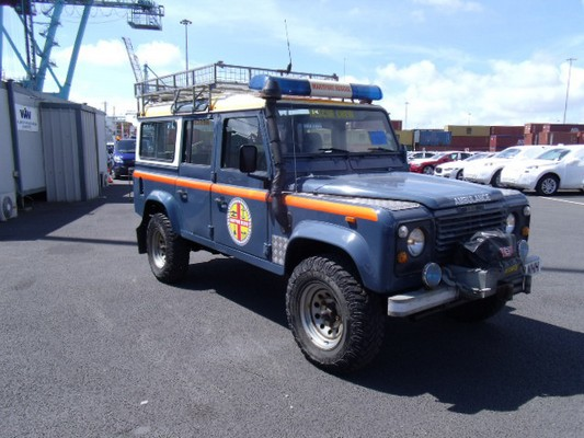 Car Shipping Land Rover Ambulance