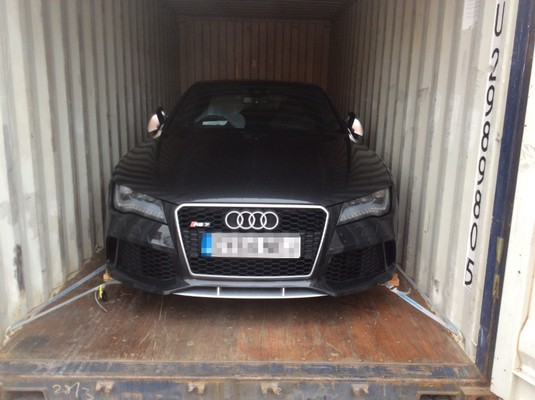 Car Shipping Audi RS7