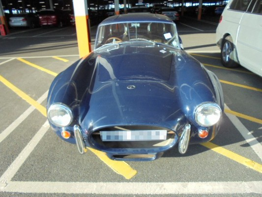Car Shipping AC Cobra Replica