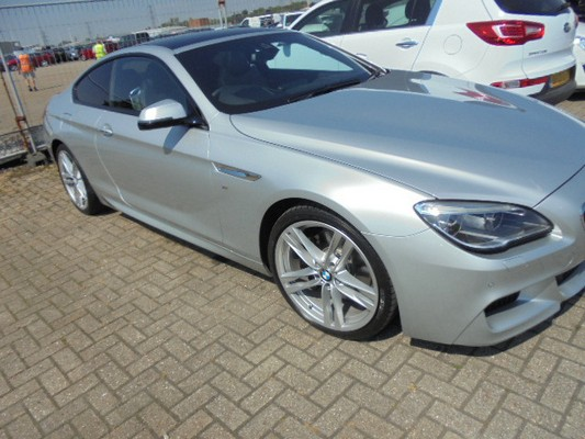 Car Shipping BMW 640D Coupe