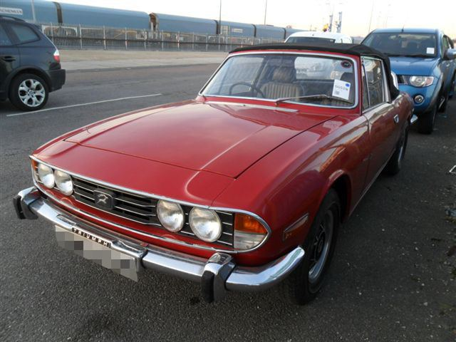 Car Shipping Triumph Stag