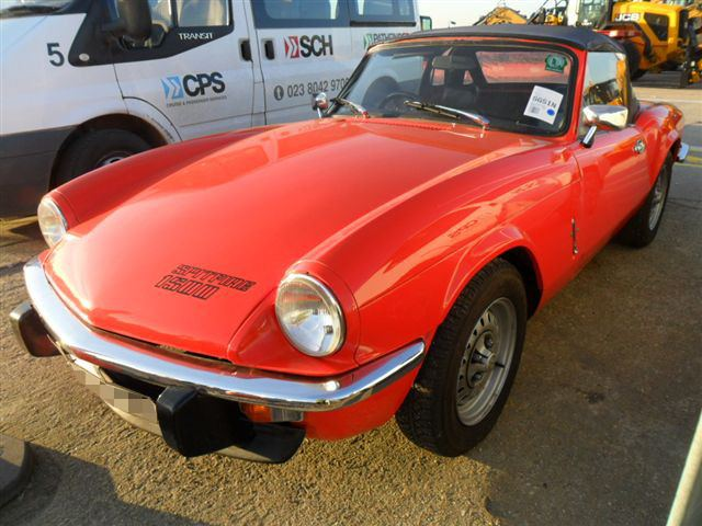 Car Shipping Triumph Spitfire