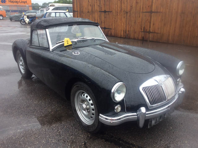 Car Shipping Black MG A