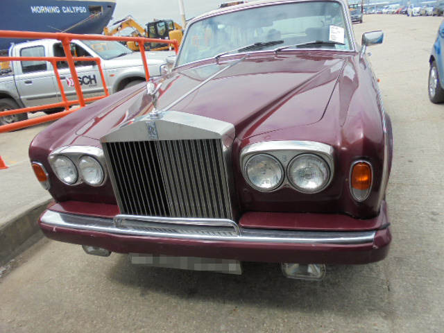 Car Shipping Rolls Royce Silver Shadow