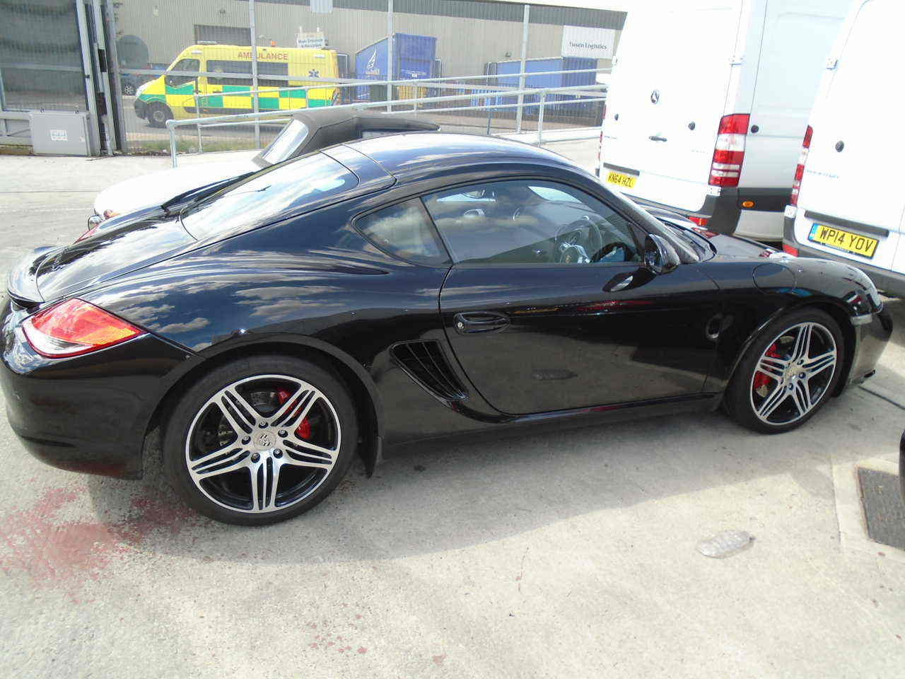 Car Shipping Porsche Cayman S