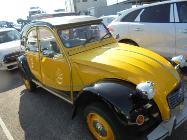 Car Shipping Citroen 2CV
