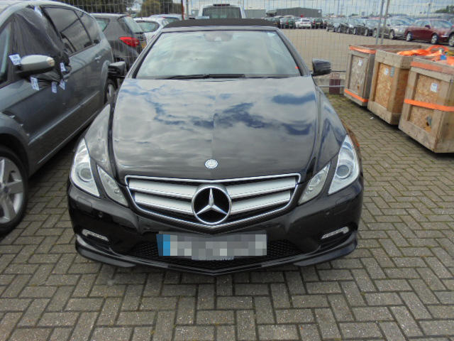 Car Shipping Mercedes Benz E250 Sport CDi