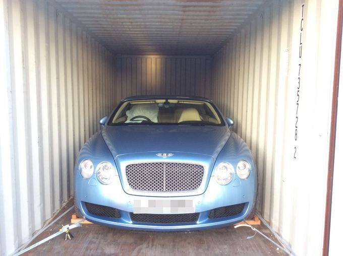 Car Shipping Bentley Continental GTC
