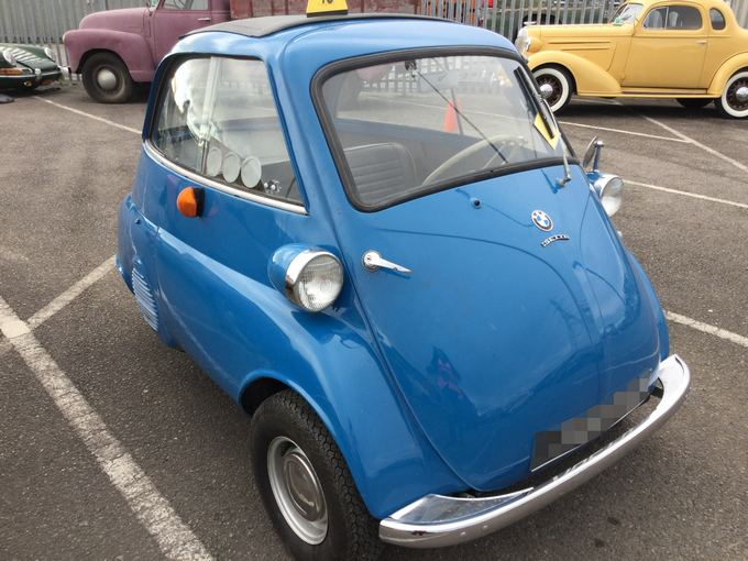Car Shipping BMW Isetta