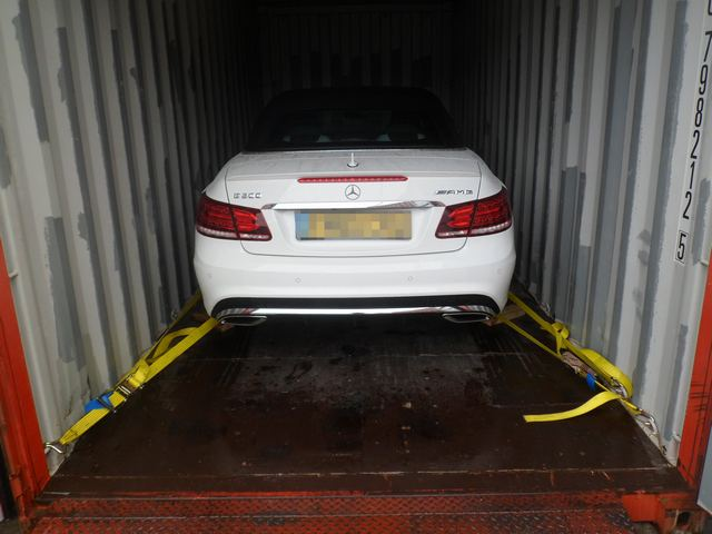 Car Shipping Mercedes E200 AMG