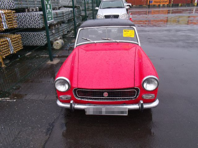 Car Shipping MG Midget
