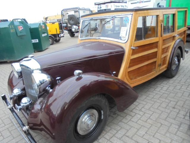 Car Shipping 1946 Alvis TA14 Estate